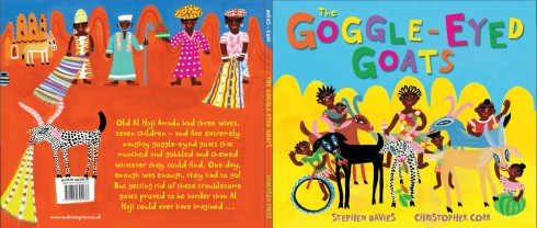 the Goggle-Eyed Goats by Stephen Davies and Chris Corr picture book PB
