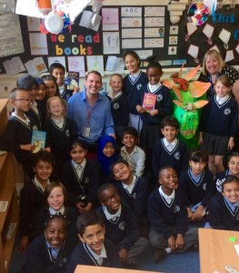 Stephen Davies author visits in primary schools - Year 4