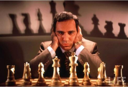 Garry Kasparov the greatest chess player of all time