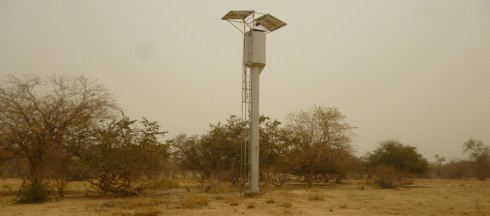 Solar pump at Sona near the Inata gold mine