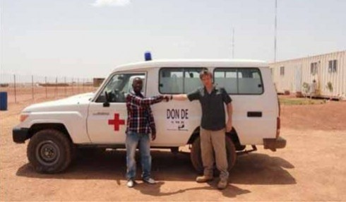 Aribinda ambulance - photo from Avocet website
