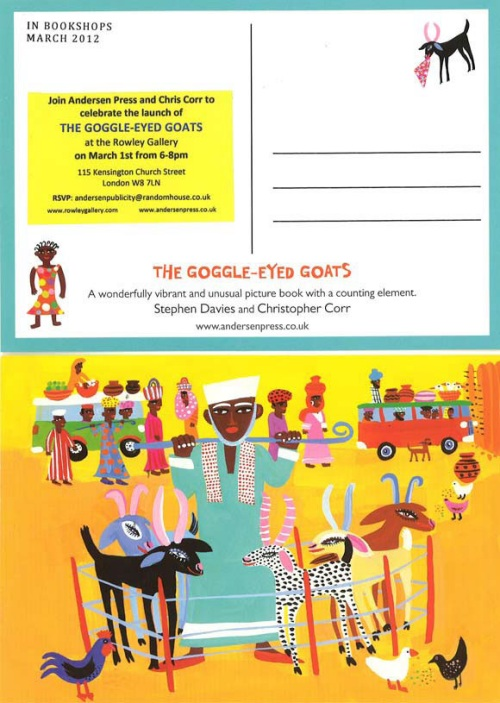 Goggle-Eyed Goats to Launch on World Book Day