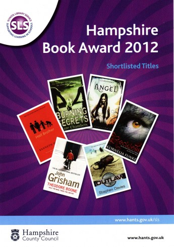 Hampshire Book Award shortlist 2012