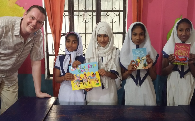Visit to Solmaid Community School in Dhaka, Bangladesh